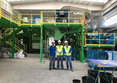 Visita de ECOVIDRIO a la planta Test Center