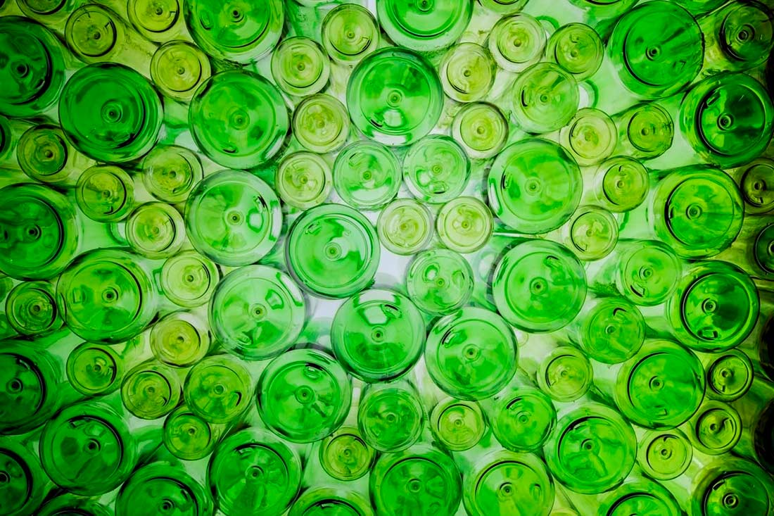 Glass recycling data in Spain