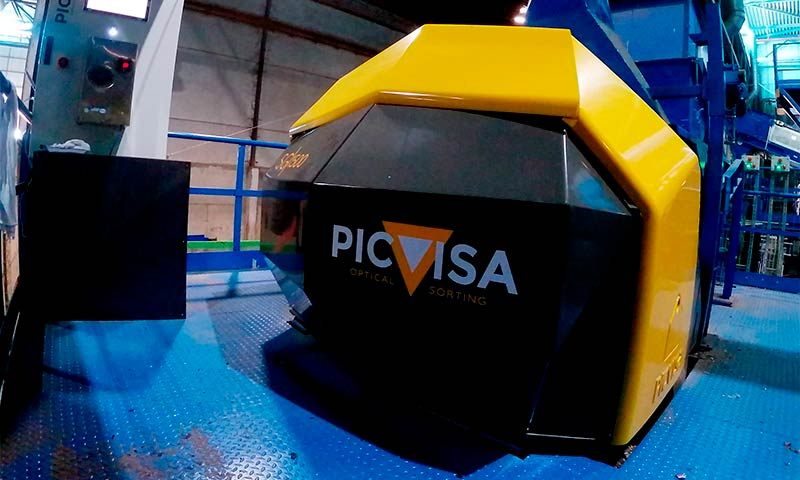 Picvisa sorting technologies clasification materials ia mv