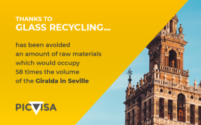 Glass recycling increases by 30% in Spain in five years
