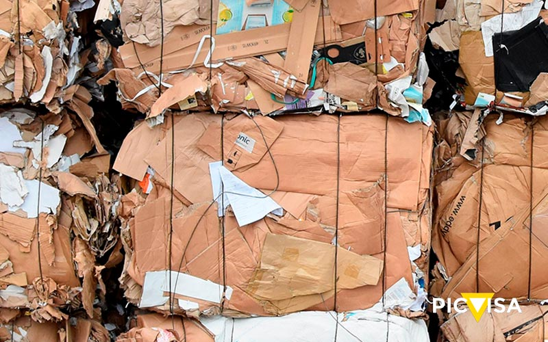 Paper recycling: the recovered fiber is already used to produce half the paper and cardboard