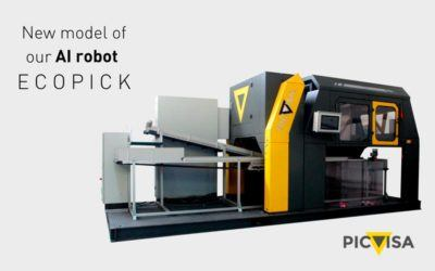 PICVISA takes off in the automation of manual triage with the new ECOPICK 2.0