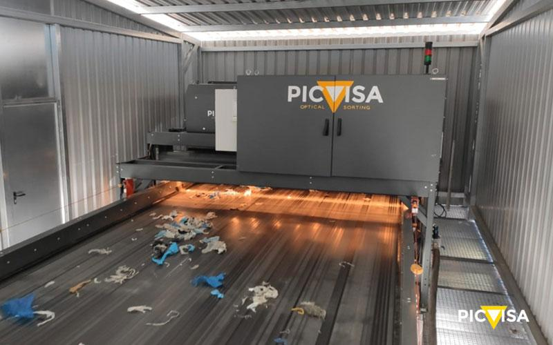 PICVISA PROVIDES SOLUTIONS TO THE PAPER INDUSTRY WITH THE OPTICAL SORTER ECOPACK