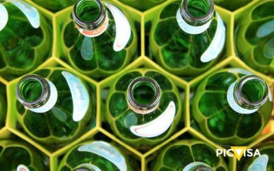 Glass recycling, a more agile and efficient process thanks to PICVISA's ECOGLASS equipment.